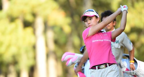 2014年の戦績:女子ゴルファー香...