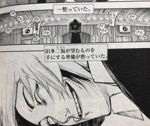 【東京グール:reネタバレ】159話はカネキが絶望し暴走で終わり!?トーカが救い出す!